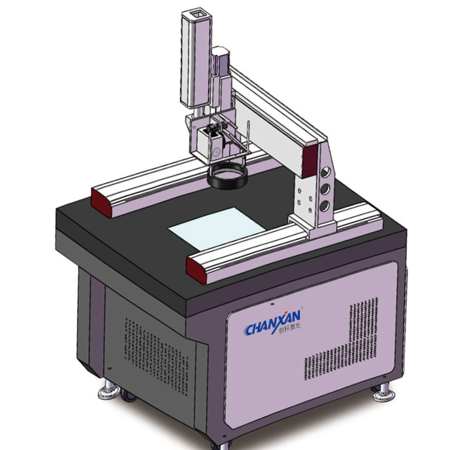CXS智能CCD识别三维打标机